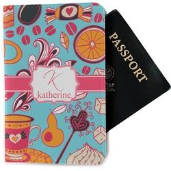 Dessert & Coffee Passport Holder - Fabric (Personalized)