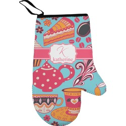 Dessert & Coffee Right Oven Mitt (Personalized)