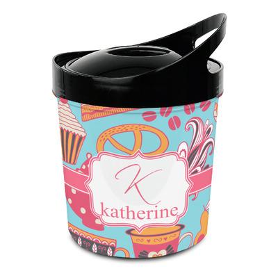 Dessert & Coffee Plastic Ice Bucket (Personalized)