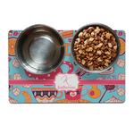 Dessert & Coffee Dog Food Mat (Personalized)