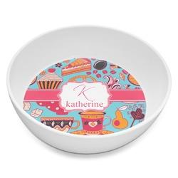 Dessert & Coffee Melamine Bowl 8oz (Personalized)