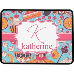 """Dessert & Coffee Rectangular Trailer Hitch Cover - 1.25"""" (Personalized)"""