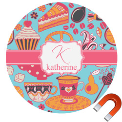 Dessert & Coffee Car Magnet (Personalized)