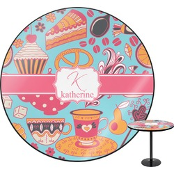 """Dessert & Coffee Round Table - 30"""" (Personalized)"""