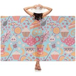 Dessert & Coffee Sheer Sarong (Personalized)