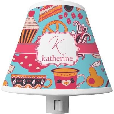 Dessert & Coffee Shade Night Light (Personalized)