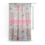 Dessert & Coffee Sheer Curtains (Personalized)