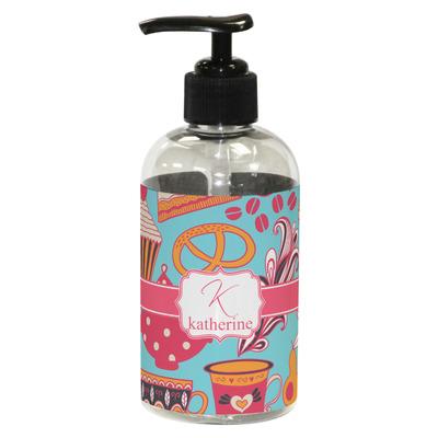 Dessert & Coffee Plastic Soap / Lotion Dispenser (8 oz - Small) (Personalized)