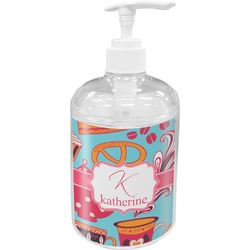 Dessert & Coffee Acrylic Soap & Lotion Bottle (Personalized)