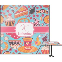 Dessert & Coffee Square Table Top (Personalized)