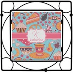 Dessert & Coffee Square Trivet (Personalized)