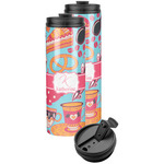 Dessert & Coffee Stainless Steel Skinny Tumbler (Personalized)