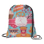 Dessert & Coffee Drawstring Backpack (Personalized)