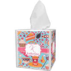 Dessert & Coffee Tissue Box Cover (Personalized)