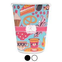 Dessert & Coffee Waste Basket (Personalized)
