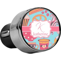 Dessert & Coffee USB Car Charger (Personalized)