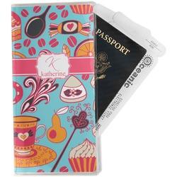 Dessert & Coffee Travel Document Holder