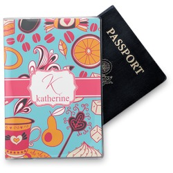 Dessert & Coffee Vinyl Passport Holder (Personalized)