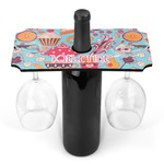 Dessert & Coffee Wine Bottle & Glass Holder (Personalized)