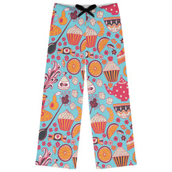 Dessert & Coffee Womens Pajama Pants (Personalized)