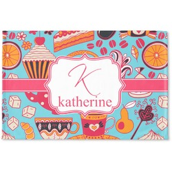 Dessert & Coffee Woven Mat (Personalized)