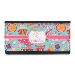 Dessert & Coffee Leatherette Ladies Wallet (Personalized)