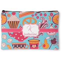Dessert & Coffee Zipper Pouch (Personalized)