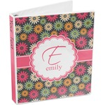 Daisies 3-Ring Binder (Personalized)