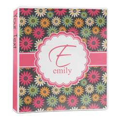 Daisies 3-Ring Binder - 1 inch (Personalized)