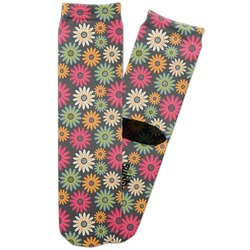 Daisies Adult Crew Socks (Personalized)