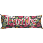 Daisies Body Pillow Case (Personalized)