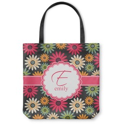 Daisies Canvas Tote Bag (Personalized)