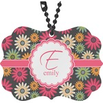 Daisies Rear View Mirror Decor (Personalized)