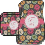 Daisies Car Floor Mats (Personalized)