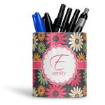 Daisies Ceramic Pen Holder