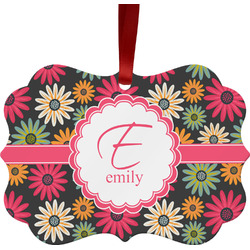 Daisies Ornament (Personalized)