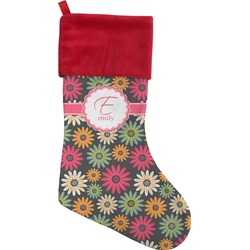 Daisies Christmas Stocking (Personalized)