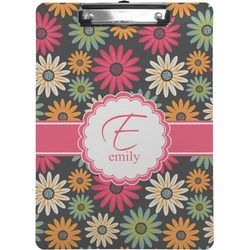 Daisies Clipboard (Personalized)