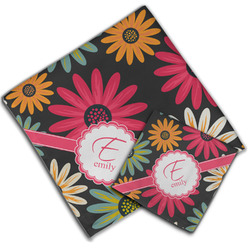 Daisies Cloth Napkin w/ Name and Initial
