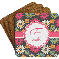 Daisies Coaster Set (Personalized)
