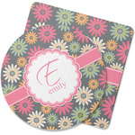 Daisies Rubber Backed Coaster (Personalized)