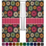 Daisies Curtains (2 Panels Per Set) (Personalized)