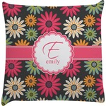 Daisies Decorative Pillow Case (Personalized)