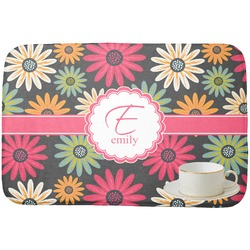 Daisies Dish Drying Mat (Personalized)