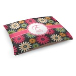 Daisies Dog Bed (Personalized)