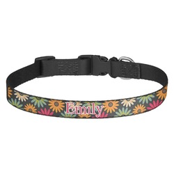 Daisies Dog Collar - Multiple Sizes (Personalized)