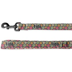 Daisies Deluxe Dog Leash (Personalized)