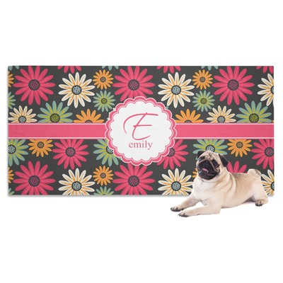 Daisies Dog Towel (Personalized)
