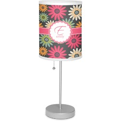 "Daisies 7"" Drum Lamp with Shade (Personalized)"