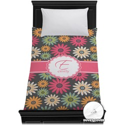 Daisies Duvet Cover - Twin (Personalized)